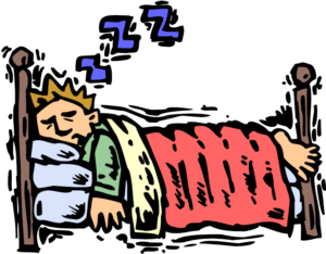 Clipart bed sleep
