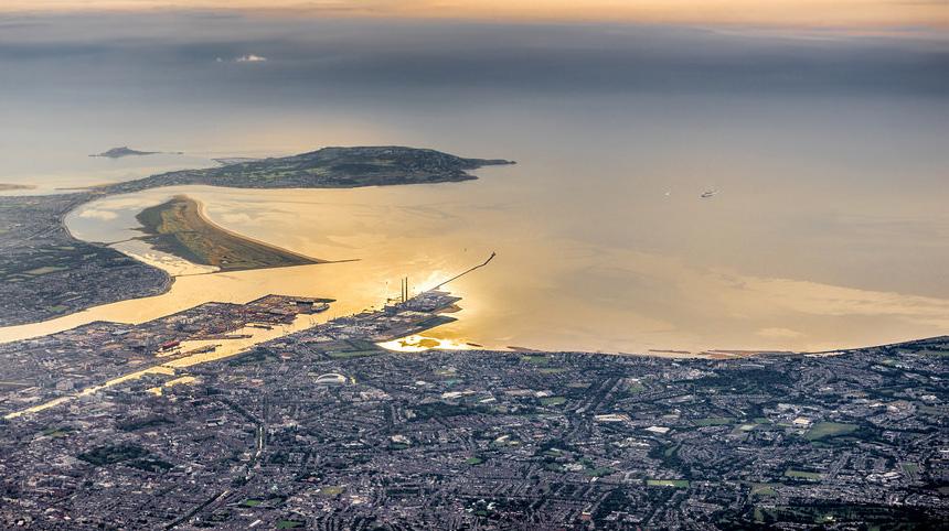 Dublin bay view