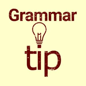 ACET grammar tip