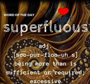 ACET word of the day