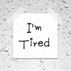 ACET word I'm tired