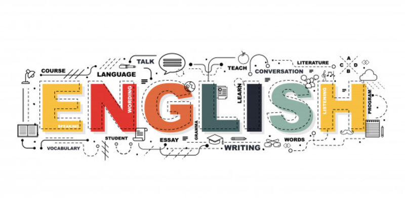 ACET English word banner