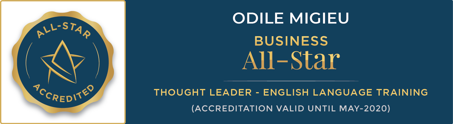 All star thought leader Odile