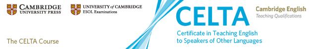 CELTA Course Cork