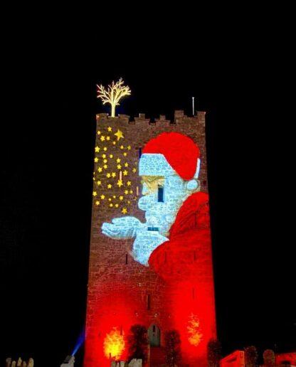 Students enjoying a Christmas in Ireland